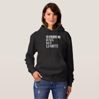 Queer - Gender has no limits - - LGBTQ Rights -  - Hoodie