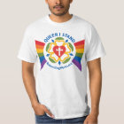"""""""Queer I Stand"""" t-shirt (on light fabric)"""