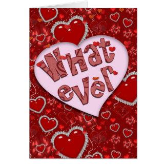Quelque carte de Saint-Valentin