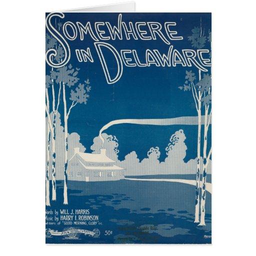 Quelque part dans la carte du Delaware