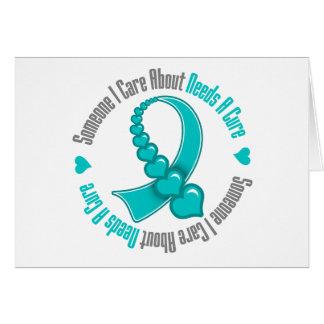 Quelqu'un soin d'I au sujet de syndrome de Tourett Carte De Vœux