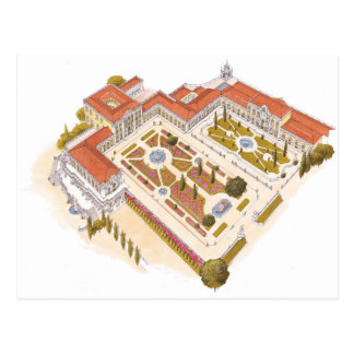 Queluz National Palace. Lisboa Portugal Postcard