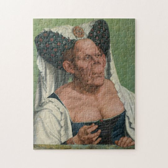 Quentin Massys, The Ugly Duchess, ca 1525 Jigsaw Puzzle