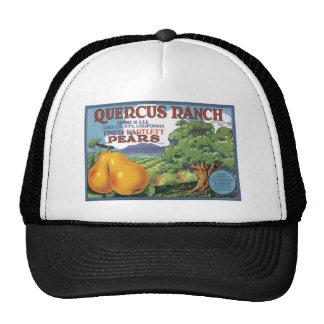 Quercus Ranch Bartlett Pears Trucker Hats
