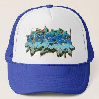 QUES GRAFFITI 2 TRUCKER HAT