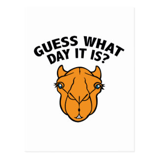 Quess What Day It Is? Postcards