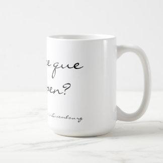 Qu'est-ce que le buppen Mug