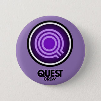 QUEST DANCE CREW 2 INCH ROUND BUTTON