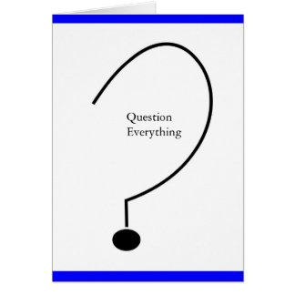 Question  card