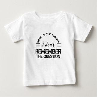 Question design cute baby T-Shirt