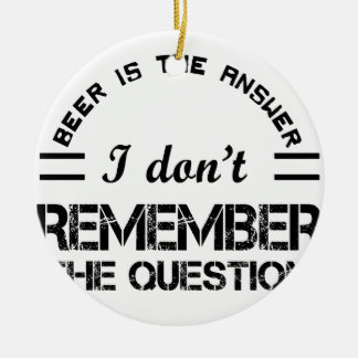 Question design cute ceramic ornament
