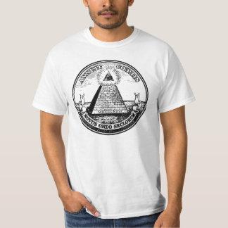 Question Illuminati New World Order T-Shirt