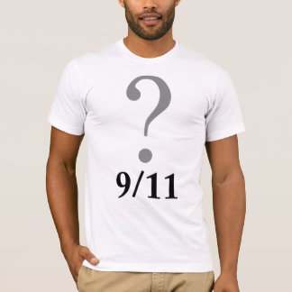 Question Mark 9/11 T-Shirt