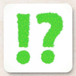 question mark coaster
