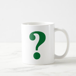 Question Mark Coffee Mug