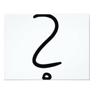question mark icon card