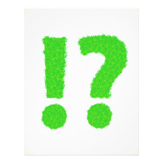 question mark letterhead
