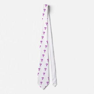 Question mark necktie