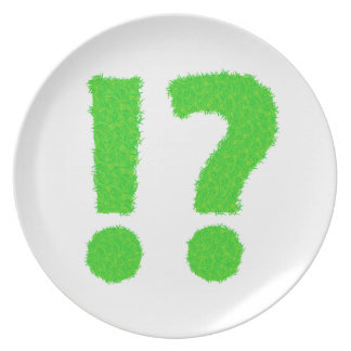 question mark plate