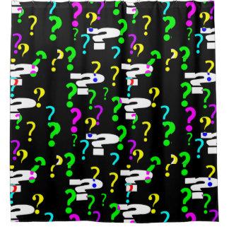 Question Mark Shower CurtainA