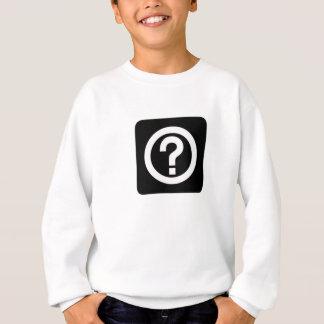 Question Mark Sign Sweatshirt