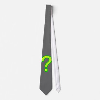 question mark tie