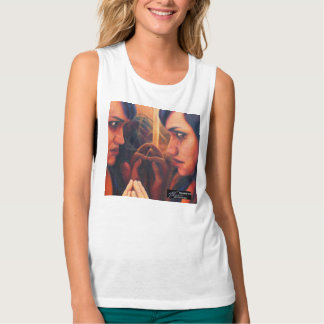 """""""Question of Trust"""" tank top by Rosanne Coty"""