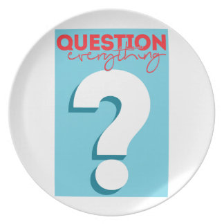 question plate