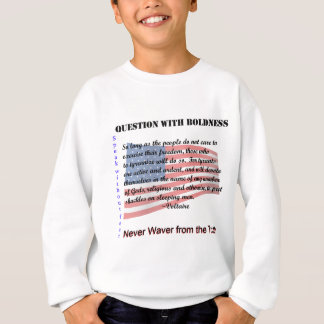 Question with Boldness Sweatshirt