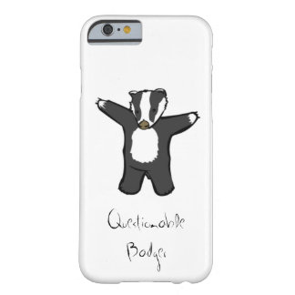 Questionable Badger Phone Case
