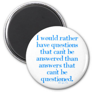 Questions and Answers 2 Inch Round Magnet