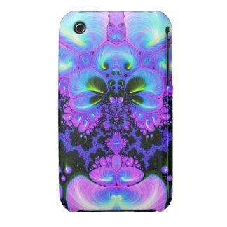 Quetzalcoatl Blossom V 1  iPhone 3 Case