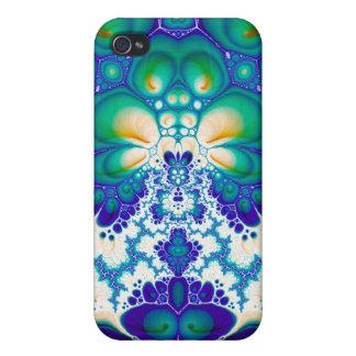 Quetzalcoatl Blossom V 6 Savvy iPhone 4 Case
