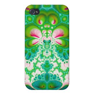 Quetzalcoatl Blossom V 7 Savvy iPhone 4 Case