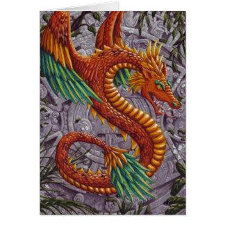 Quetzalcoatl-notecard Card