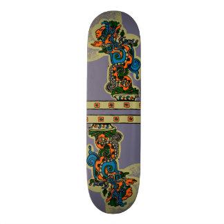 Quetzalcoatl. Tribal Aztec Skateboards