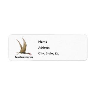 Quetzalcoatlus Custom Return Address Label