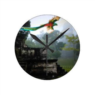Quetzel in Tikal Clock