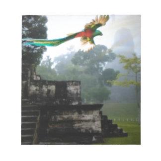 Quetzel in Tikal Notepad