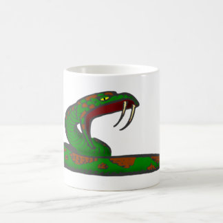 queue snake coffee mug
