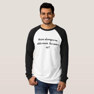 Qui annus est? Funny Latin Shirt