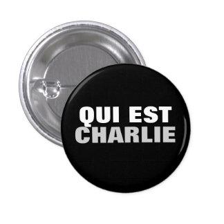 Qui Est Charlie Buttons