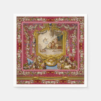 Quichotte Girly Baroque Old World French Classic Napkin
