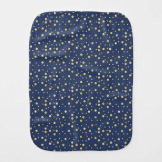 Quick Create test blue Burp Cloth