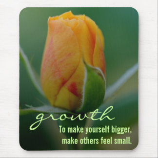 Quick easy method for personal growth mouse pad