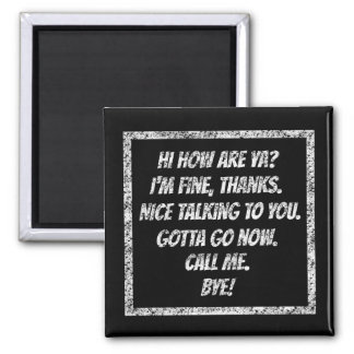 Quick Greetings Magnet