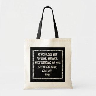 Quick Greetings Tote Bag