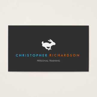 Quick Rabbit Personal Trainer Business Card