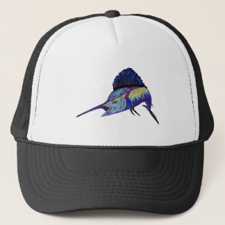QUICK TO FIGHT TRUCKER HAT