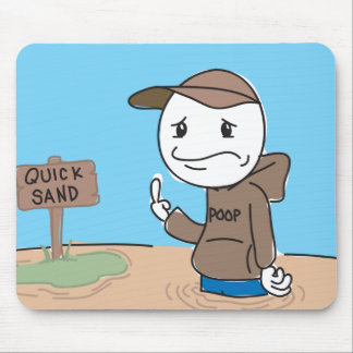 Quicksand Mouse Pad